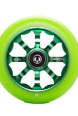 Havoc Pro Scooter Havoc 110mm Green/Green wheel