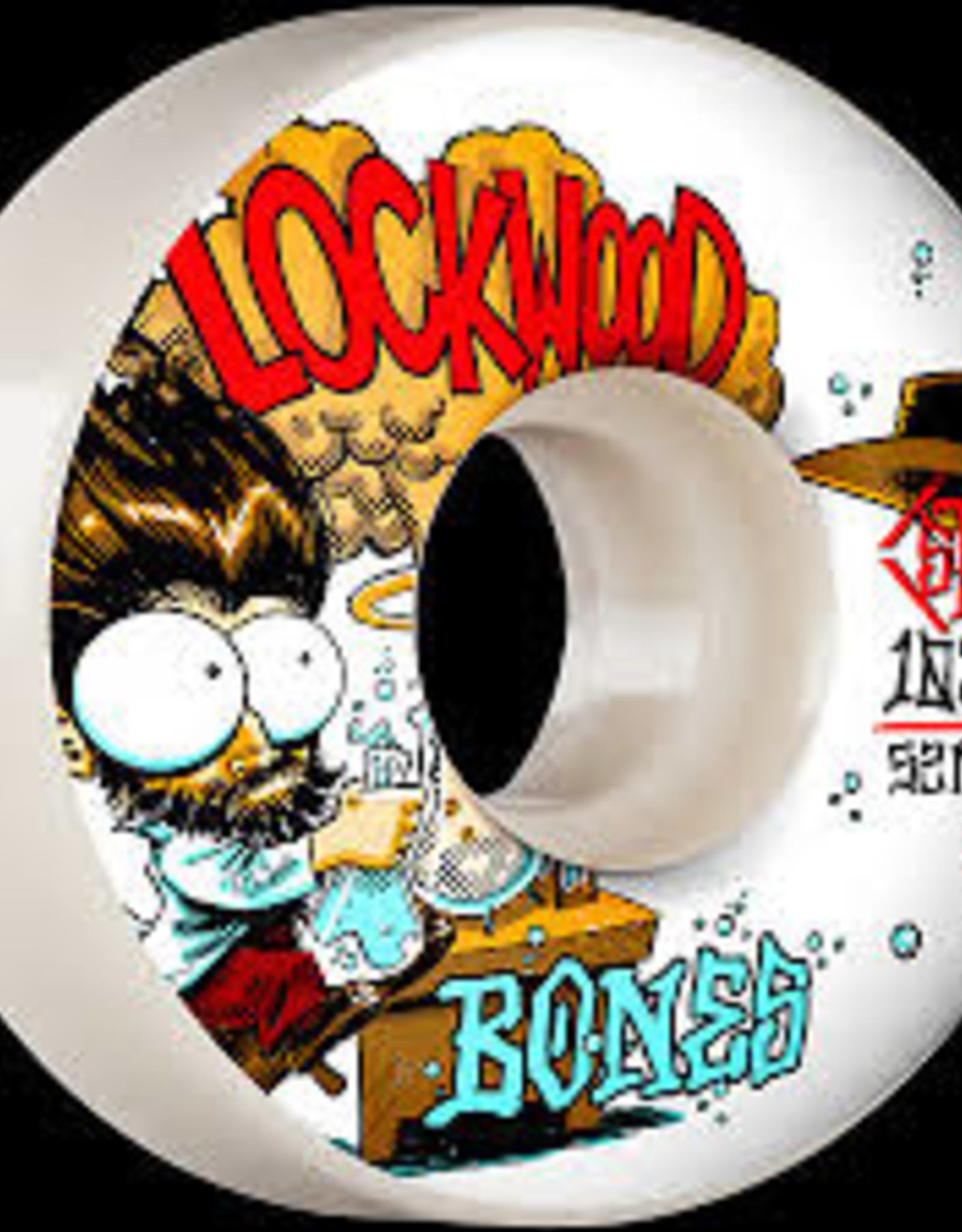Bones BONES STF WHEELS - LOCKWOOD EXPERI-MENTAL V3 SLIMS 103A (52)