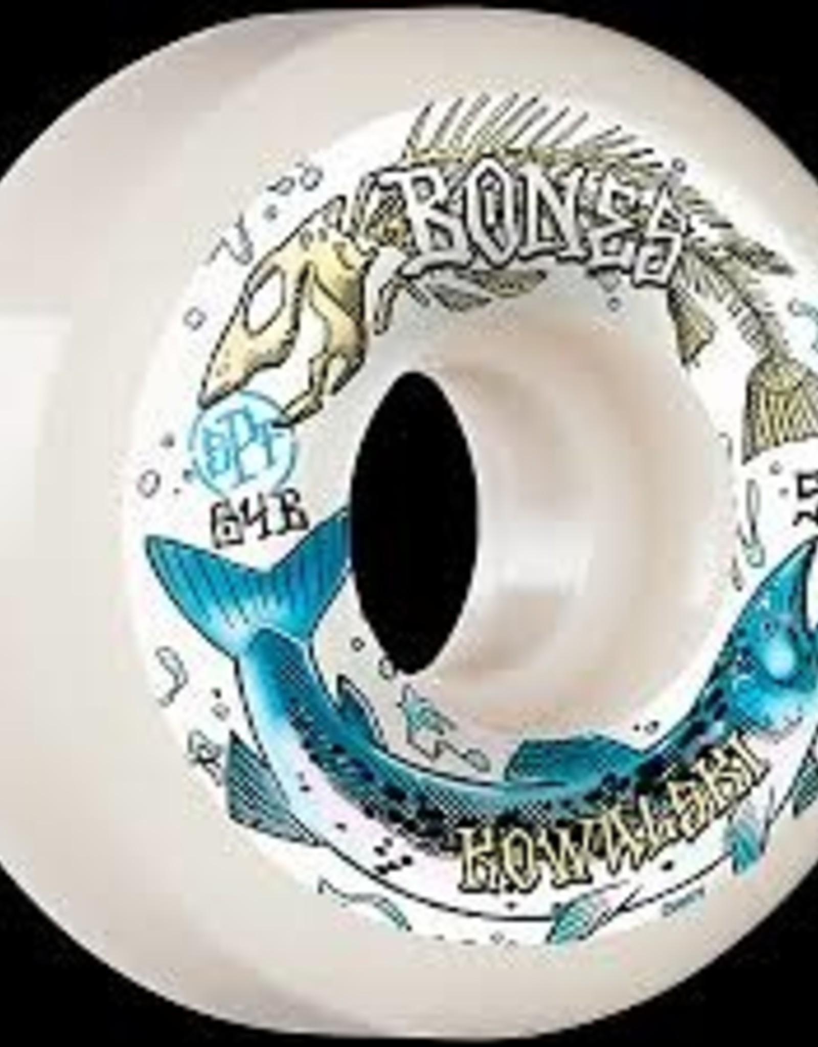 Bones BONES SPF WHEELS - KOWALSKI SALMON SPAWN 84B (54)