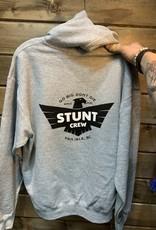 STUNT CREW STUNT CREW EAGLE HOODIE GREY