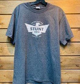 STUNT CREW Stunt Crew Eagle Tee Charcoal