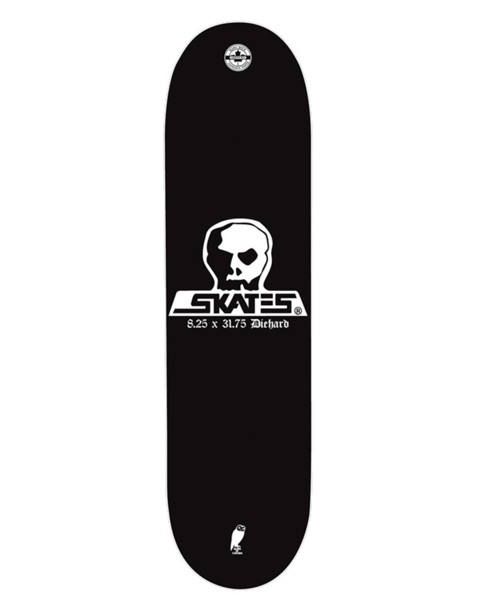 Skull Skates SKULL DECK DIEHARD 8.25x31.75