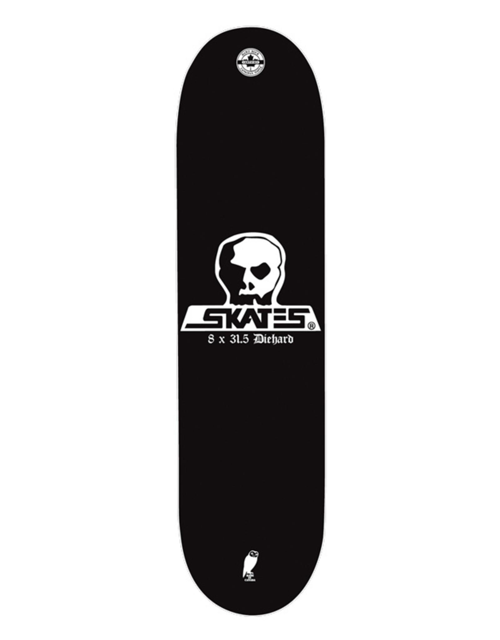 Skull Skates SKULL DECK DIEHARD 8x31.5