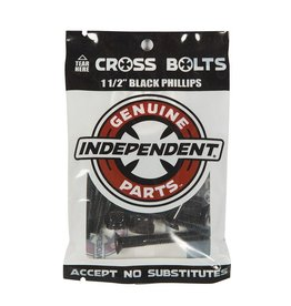 Independent INDY HARDWARE PHILLIPS 1.50in BLACK