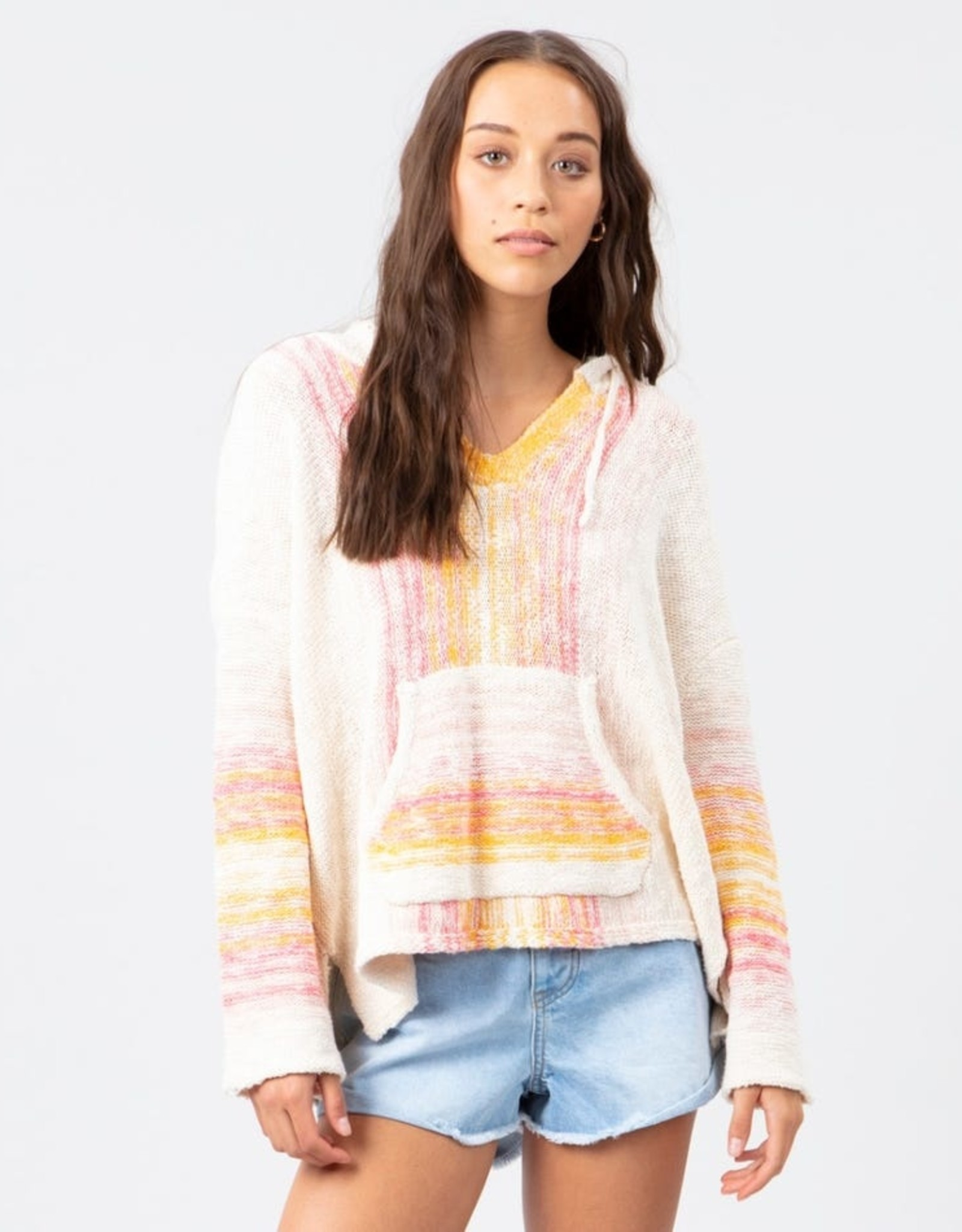 RipCurl RIPCURL HEAT WAVE SWEATER BONE