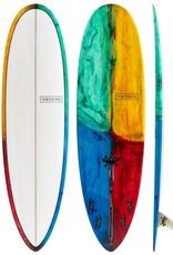 Modern Surfboards 7'6 Modern Love Child PU Kaleidoscope
