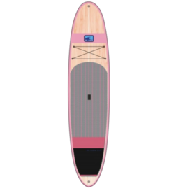 Bluwave The Woody 10.6 Bamboo SUP Pink