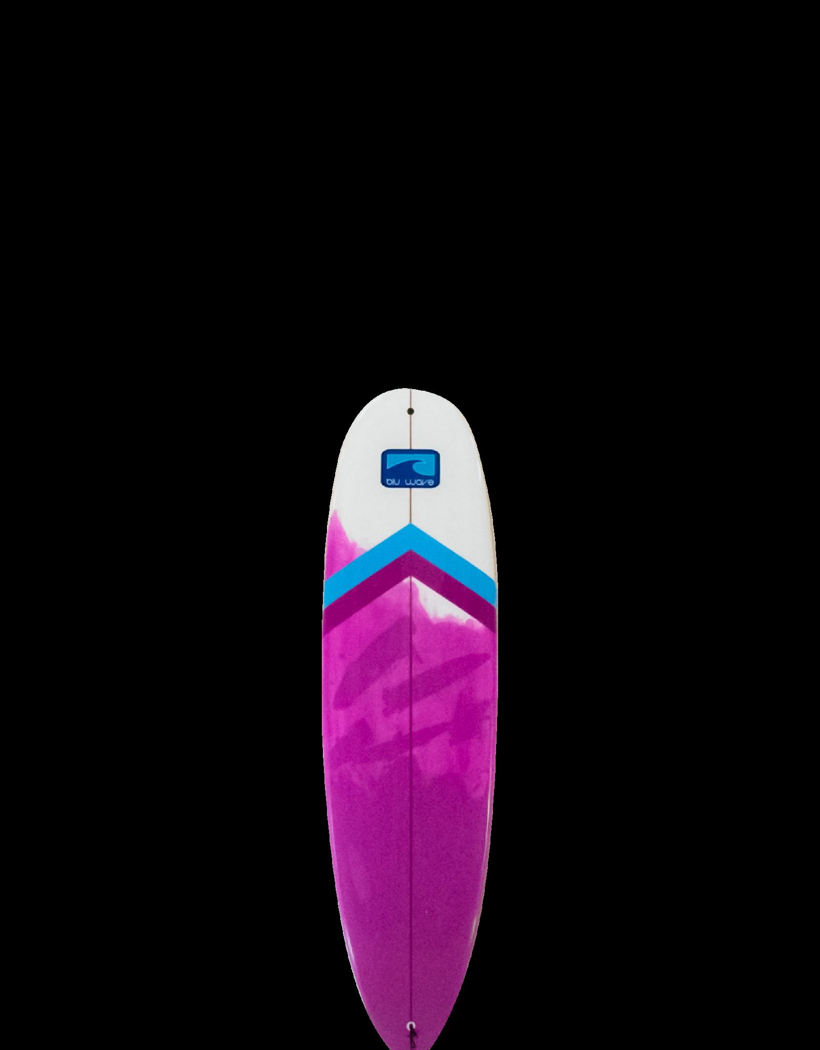 Bluwave Blu Wave Lake Log Funboard 7.0  (Epoxy)  Pink/Blu