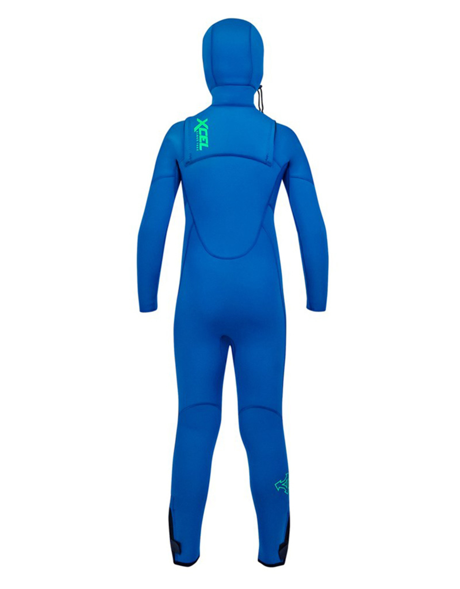 Xcel Youth Comp 4.5/3.5mm Hooded Fullsuit