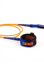 FCS FCS 6' All Round Essential Leash  Blood Org/Nvy