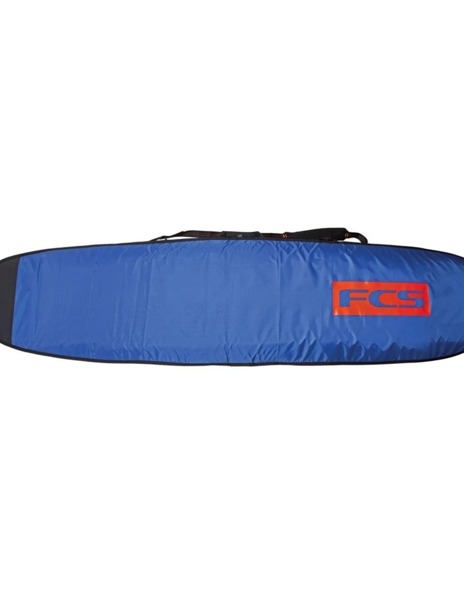 FCS FCS Classic Longboard Bags 9 ft 6 in Steel Blue- White