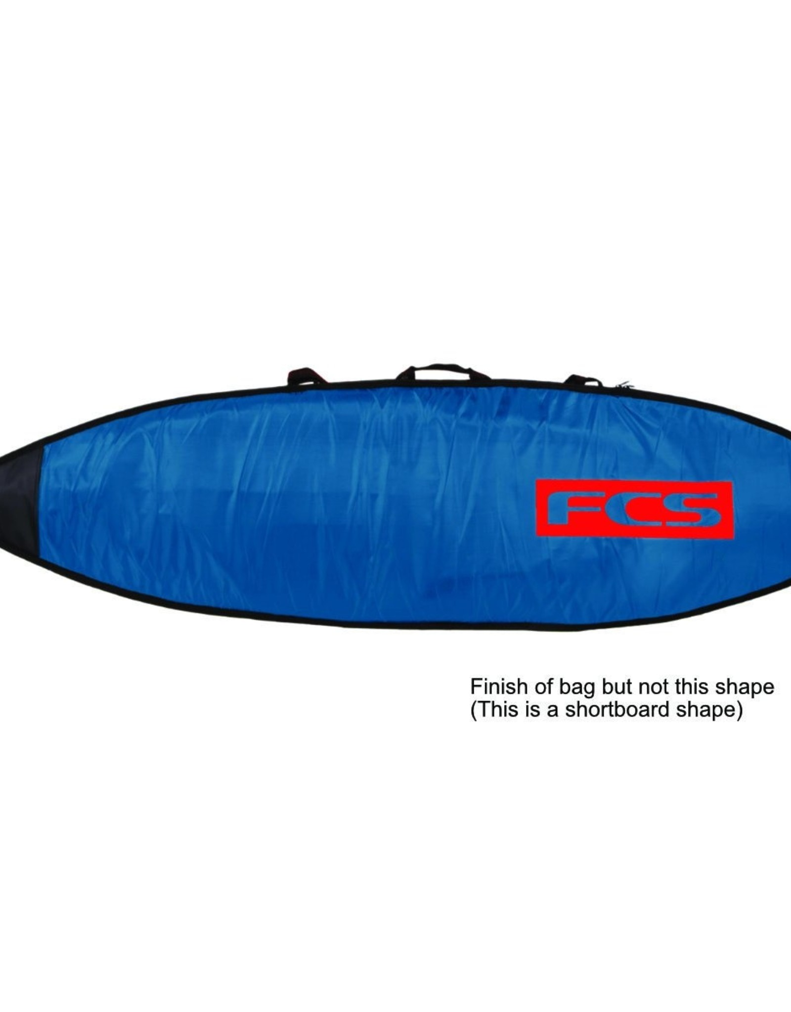 FCS FCS Classic Funboard Bags 7 ft 6 in Steel-Blue White