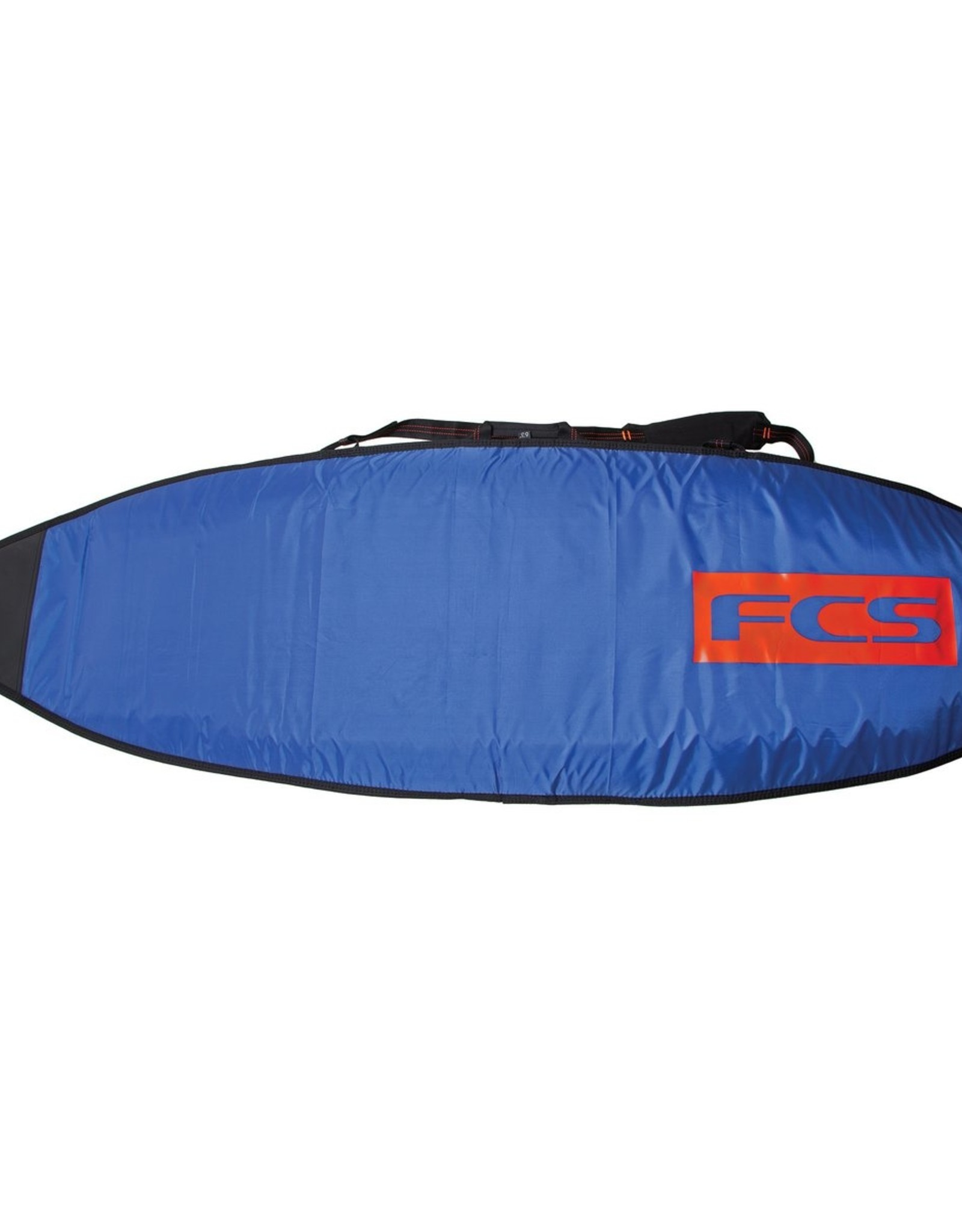 FCS FCS Classic Funboard Bags  6 foot 7 inch Steel-Blue White