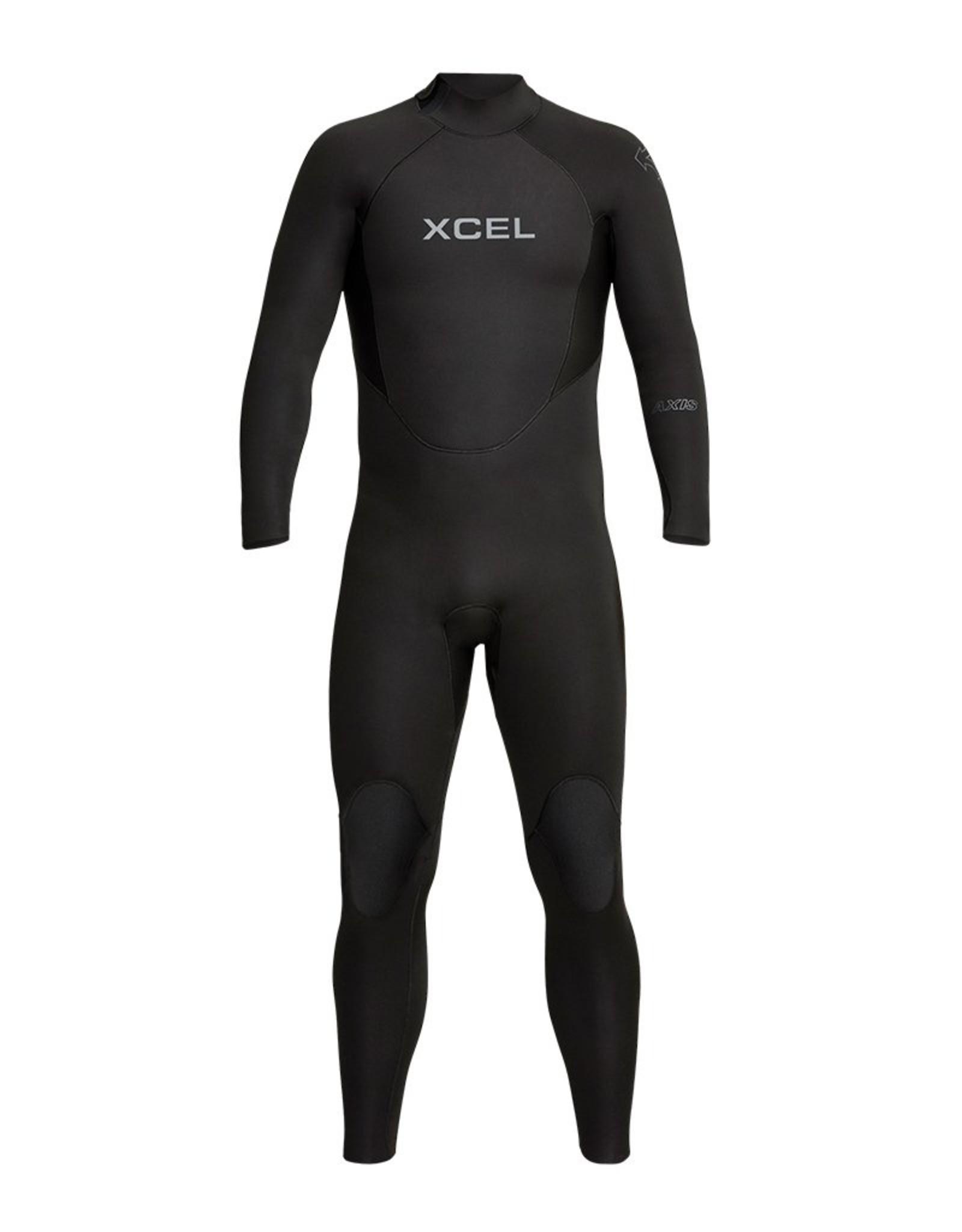 Xcel Mens Axis Back Zip 4/3mm Fullsuit