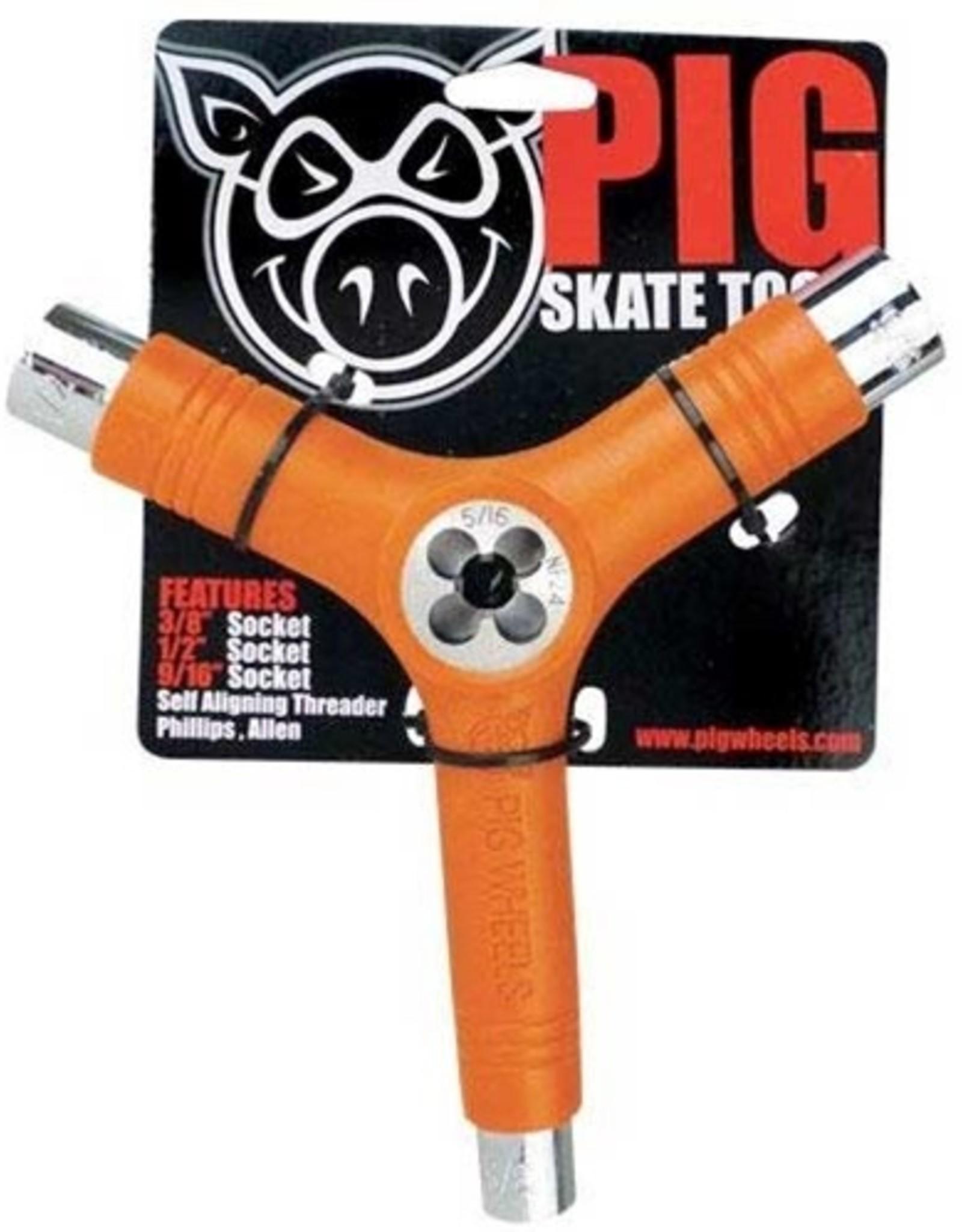 Pig PIG TOOL - PIG (RE-THREADER!) - ORANGE