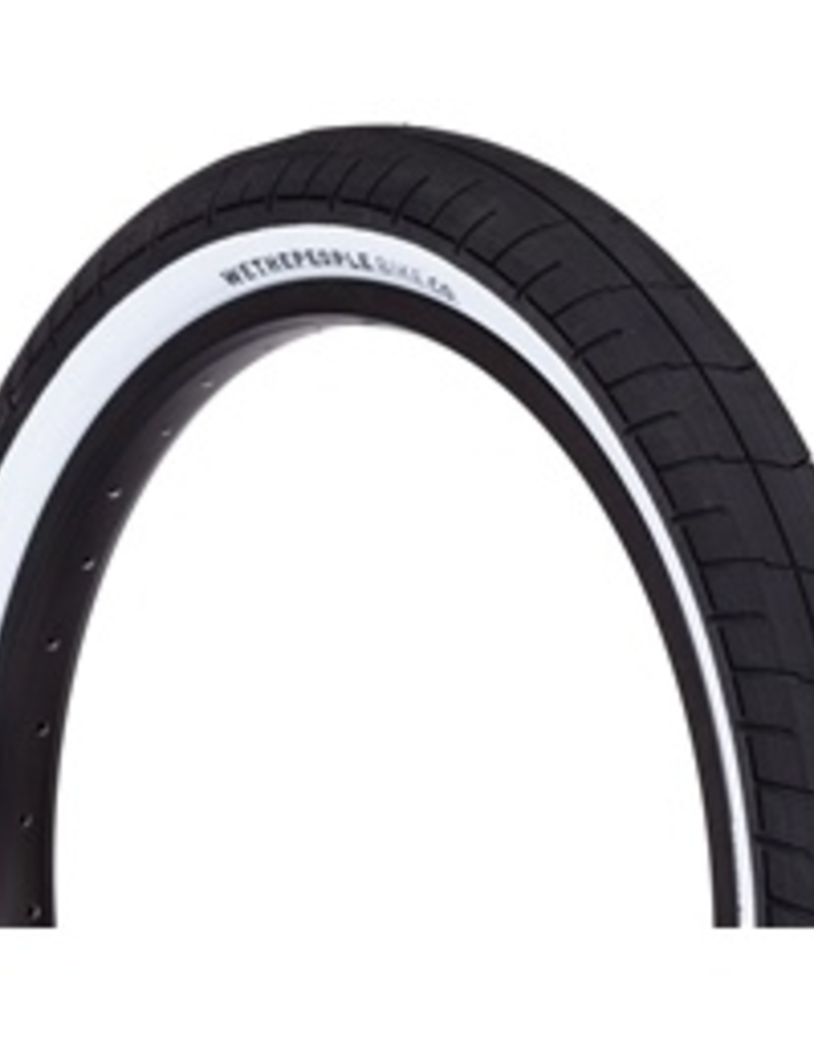 """We the People WTP ACTIVATE TIRE 100PSI 2.35"""" BLACK/WHITE"""