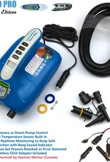 Seamax SUP20D PRO Double Stage 20PSI Electric Air Pump for SUP