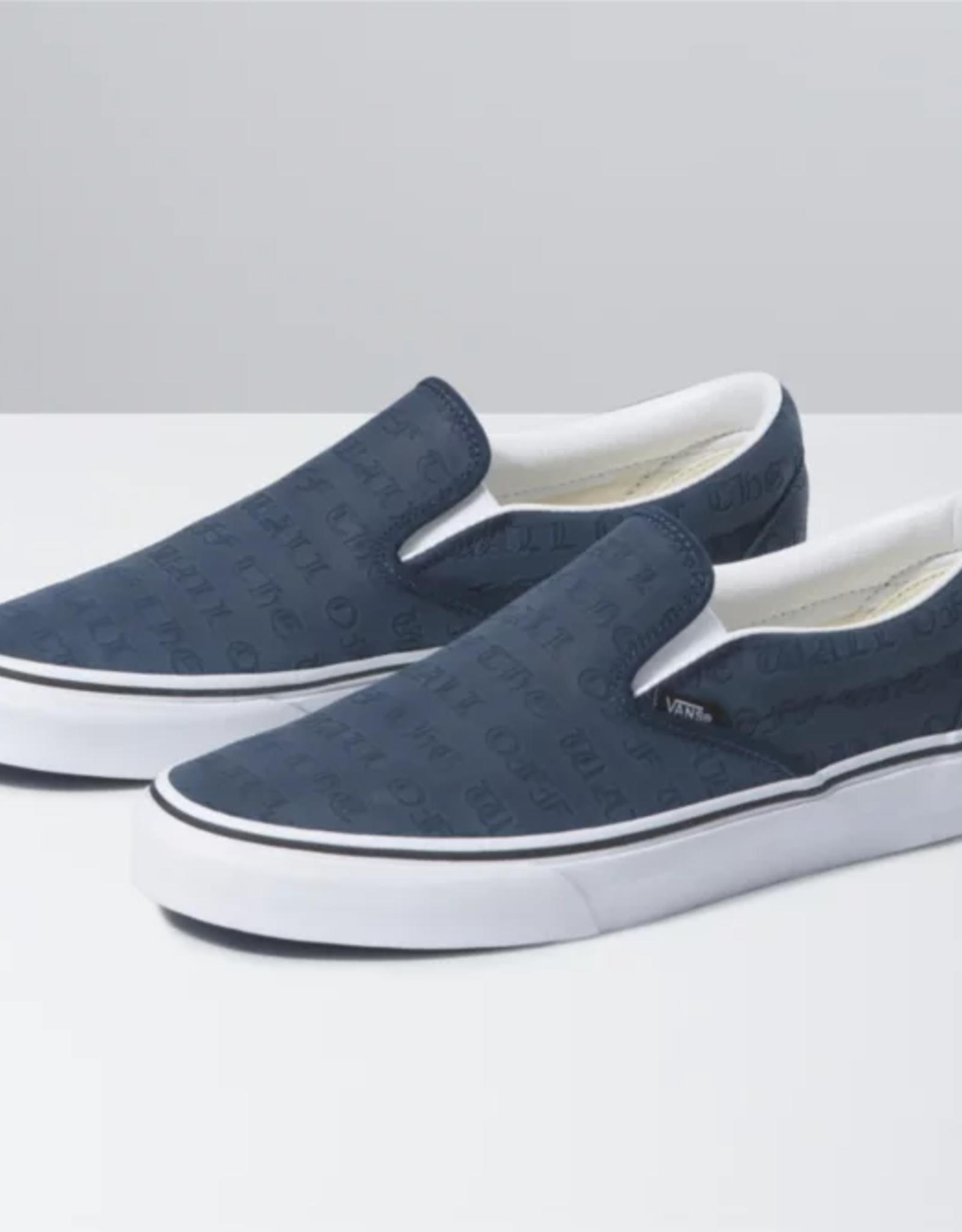 Vans VANS CLASSIC SLIP-ON (DEBOSS  OTW) DRESS BLUE