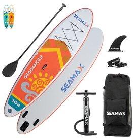 Seamax Seamax SeaDancer 10'8 Inflatable SUP Package ORANGE