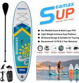 Seamax Seamax SeaDancer 10'8 Inflatable SUP Package Blue