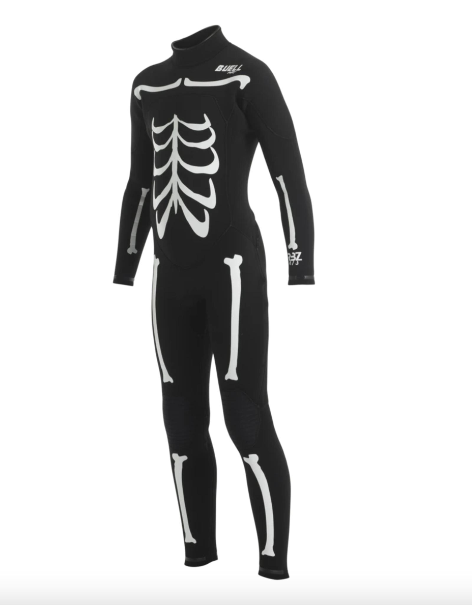 Buell RBZ 3/2 Juniors- Black/White Bones