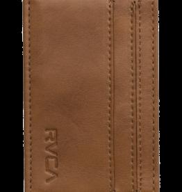 RVCA RVCA CLEAN CARD WALL M WLLT TAN