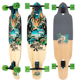 """SECTOR 9 Sector 9 COMPLETE - AINA STRIKER (36.5"""" x 9.5"""")"""