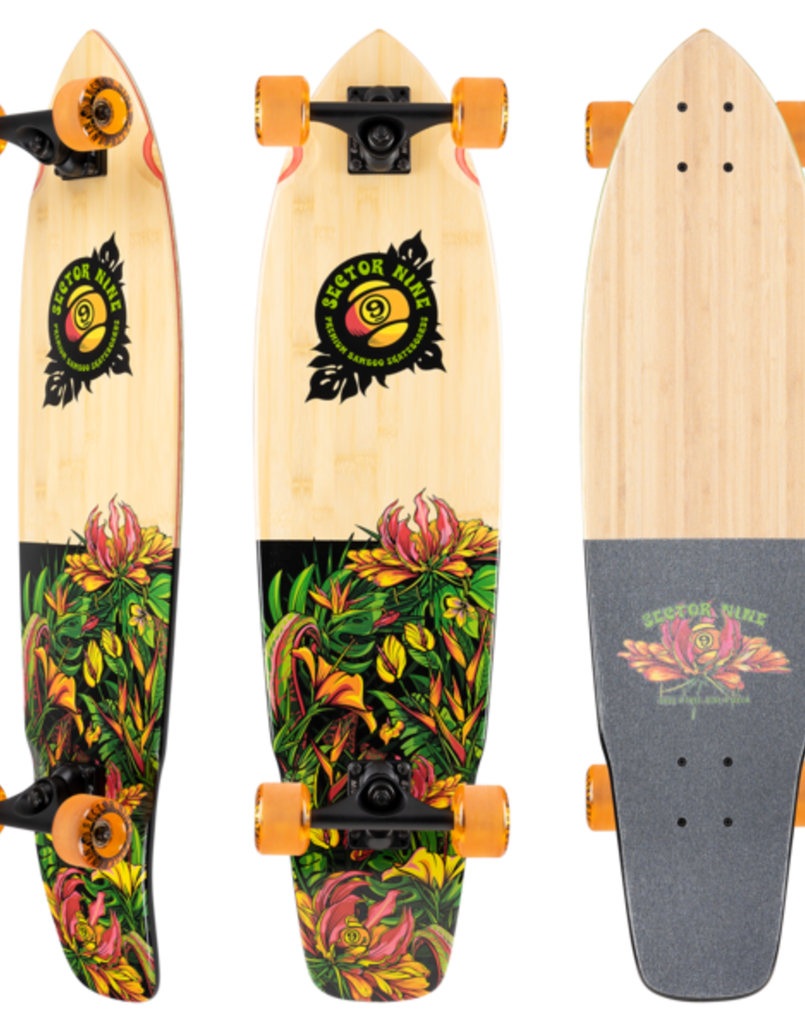 """SECTOR 9 Sector 9 COMPLETE - EDEN FT. POINT (34.0"""" x 8.75"""")"""