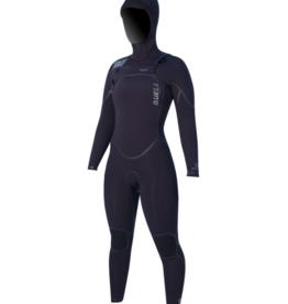 Buell BUELL RB2 5/4 Hooded Fullsuit Women's- Black