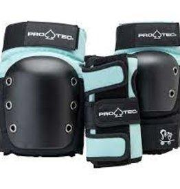 Pro-tec PRO-TEC  JUNIOR 3 PACK PAD SETS SKY BROWN YS