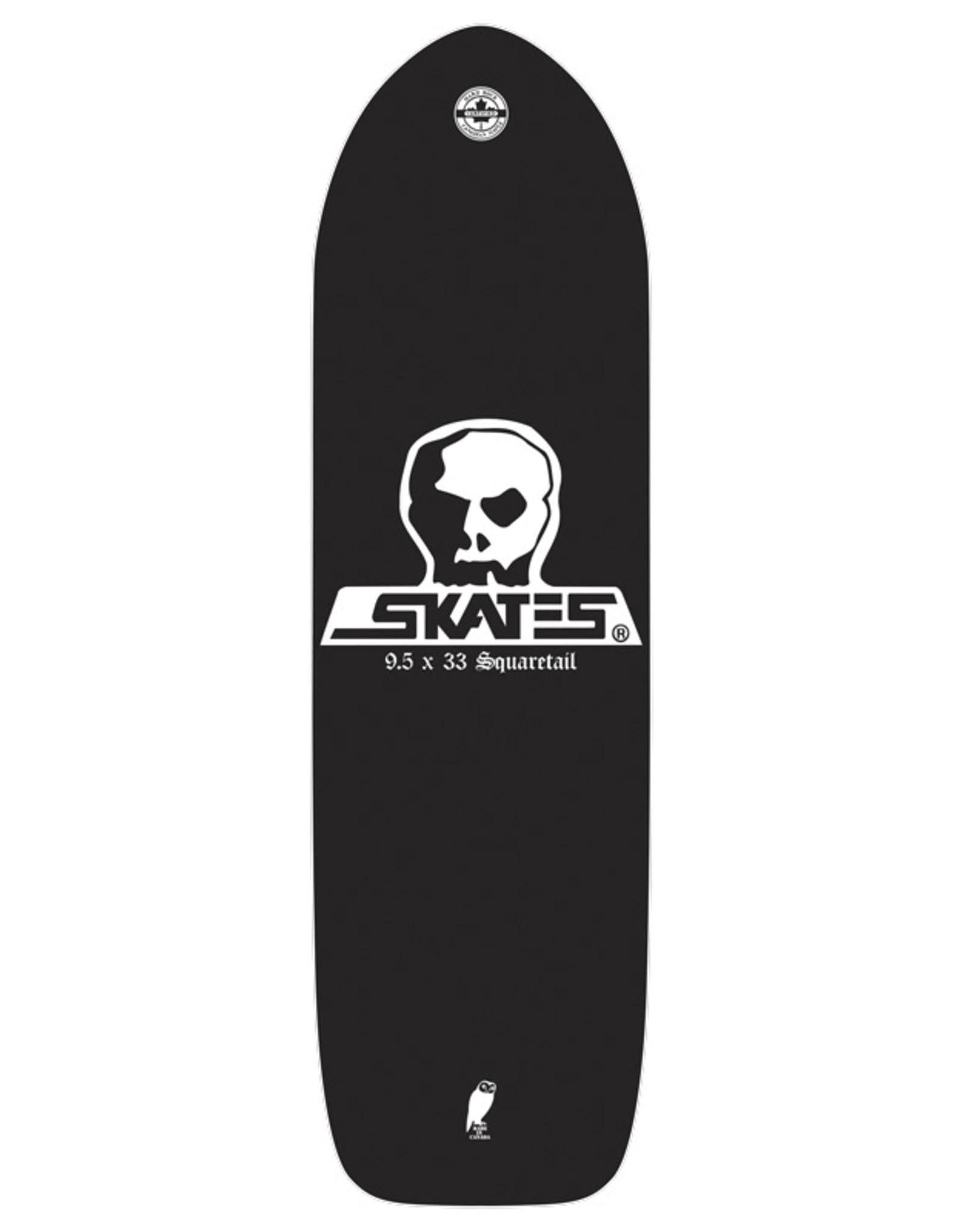 Skull Skates SKULL DECK DIEHARD SQUARETAIL 9.5x33