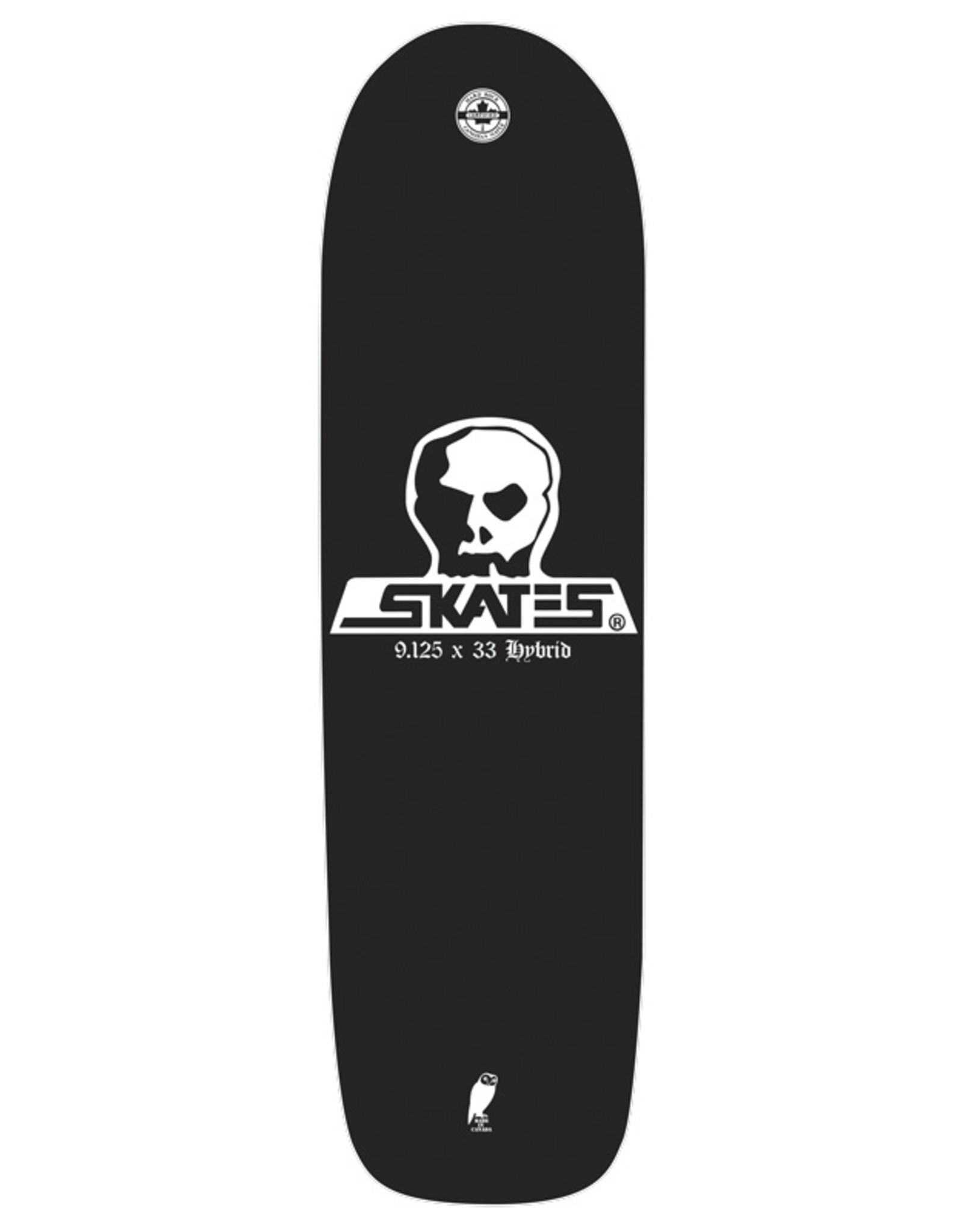 Skull Skates SKULL DECK DIEHARD HYBRID 9.125x33