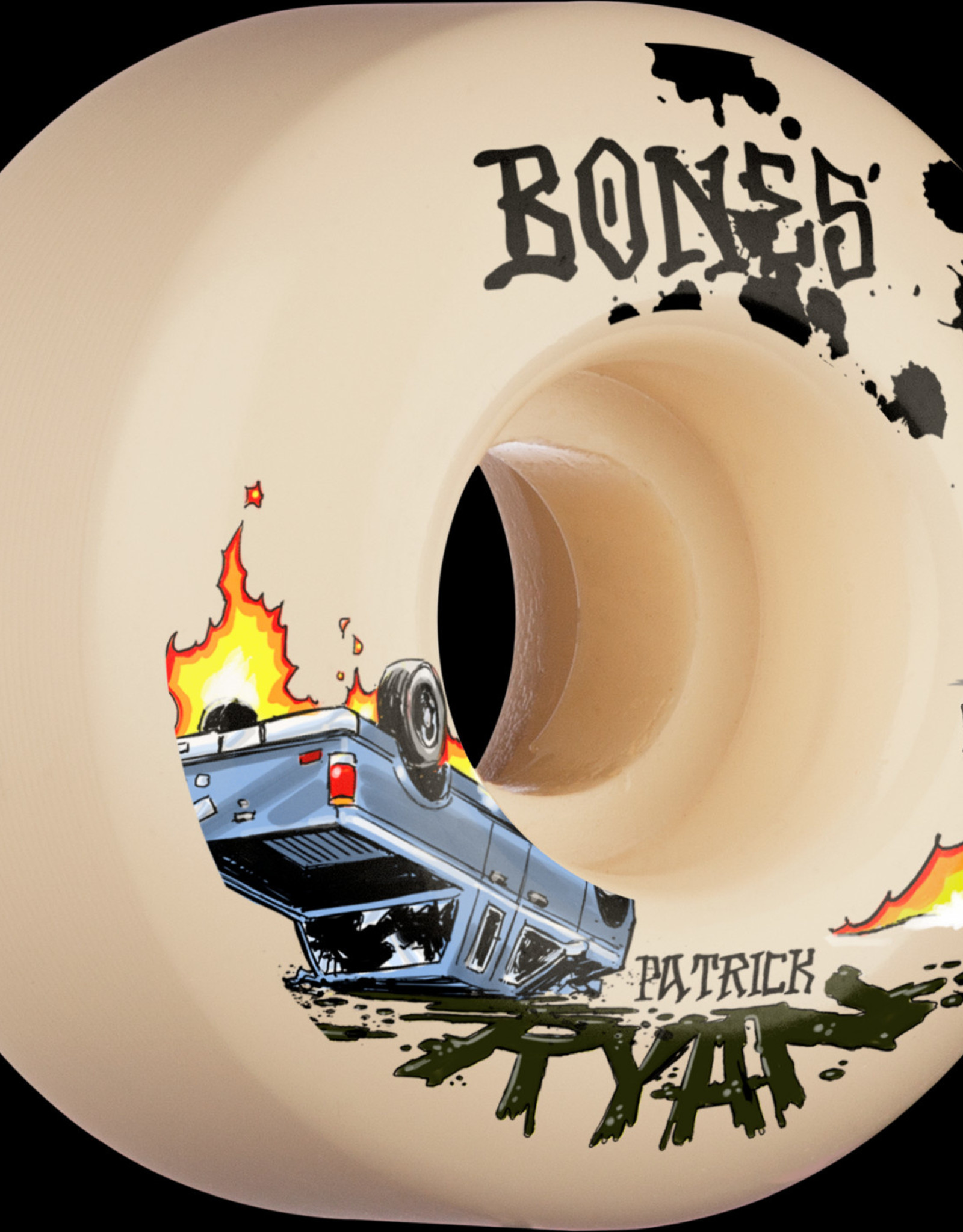 Bones BONES STF WHEELS - RYAN CRASH & BURN 99A V4 WIDE (53)