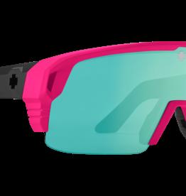 Spy SPY Monolith 5050 Matte Neon Pink Happy Bronze Light Green Spectra Mirror