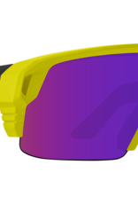 Spy SPY Monolith 5050 Matte Neon Yellow Happy Bronze Purple Spectra Mirror