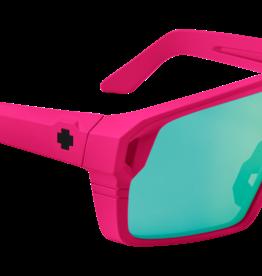 Spy SPY Monolith Matte Neon Pink Happy Bronze Light Green Spectra Mirror