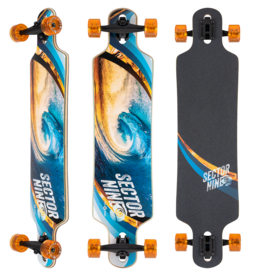 """SECTOR 9 SECTOR 9 - MERIDIAN SWIRL COMPLETE (40.0"""" x 9.75"""")"""
