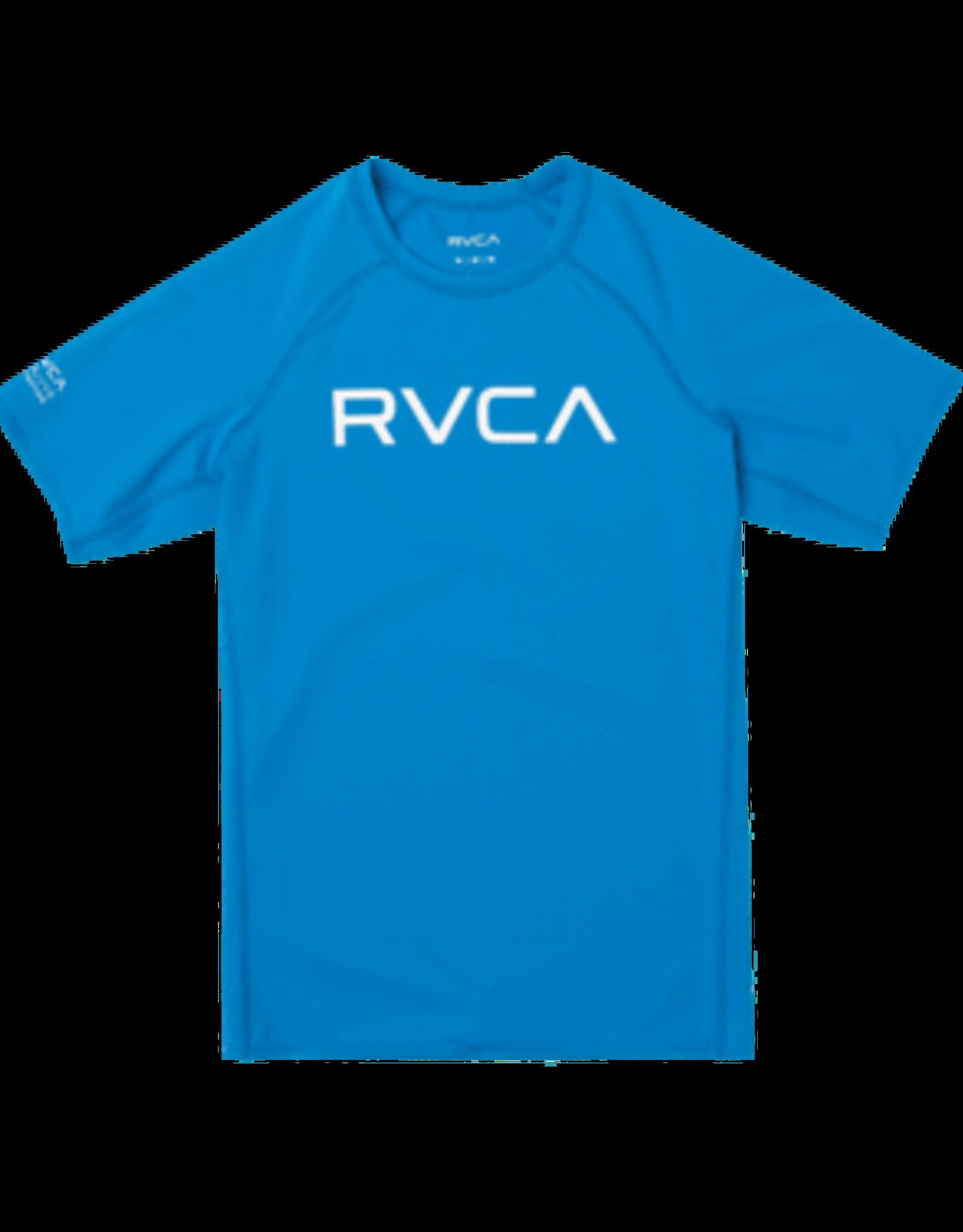 RVCA RVCA RASHGUARD BLUE