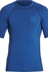 Xcel XCEL Men's Premium Stretch Solid S/S Blue
