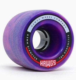 Hawgs 63mm Fattie Hawgs - Pink/Purple Swirl 78a Stoneground
