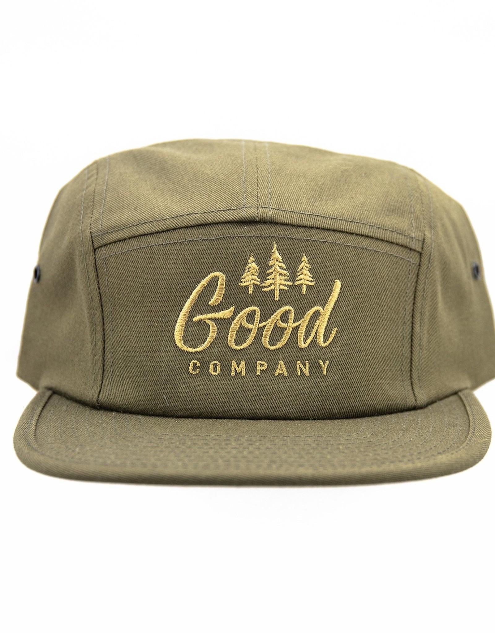 Good Company Clothing Good Co 5 Panel Camp Hat