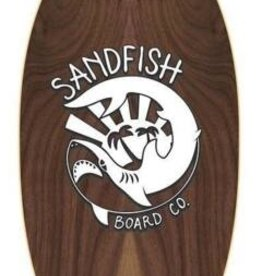 Sandfish SANDFISH Walnut Woody 40 Grom Cruiser