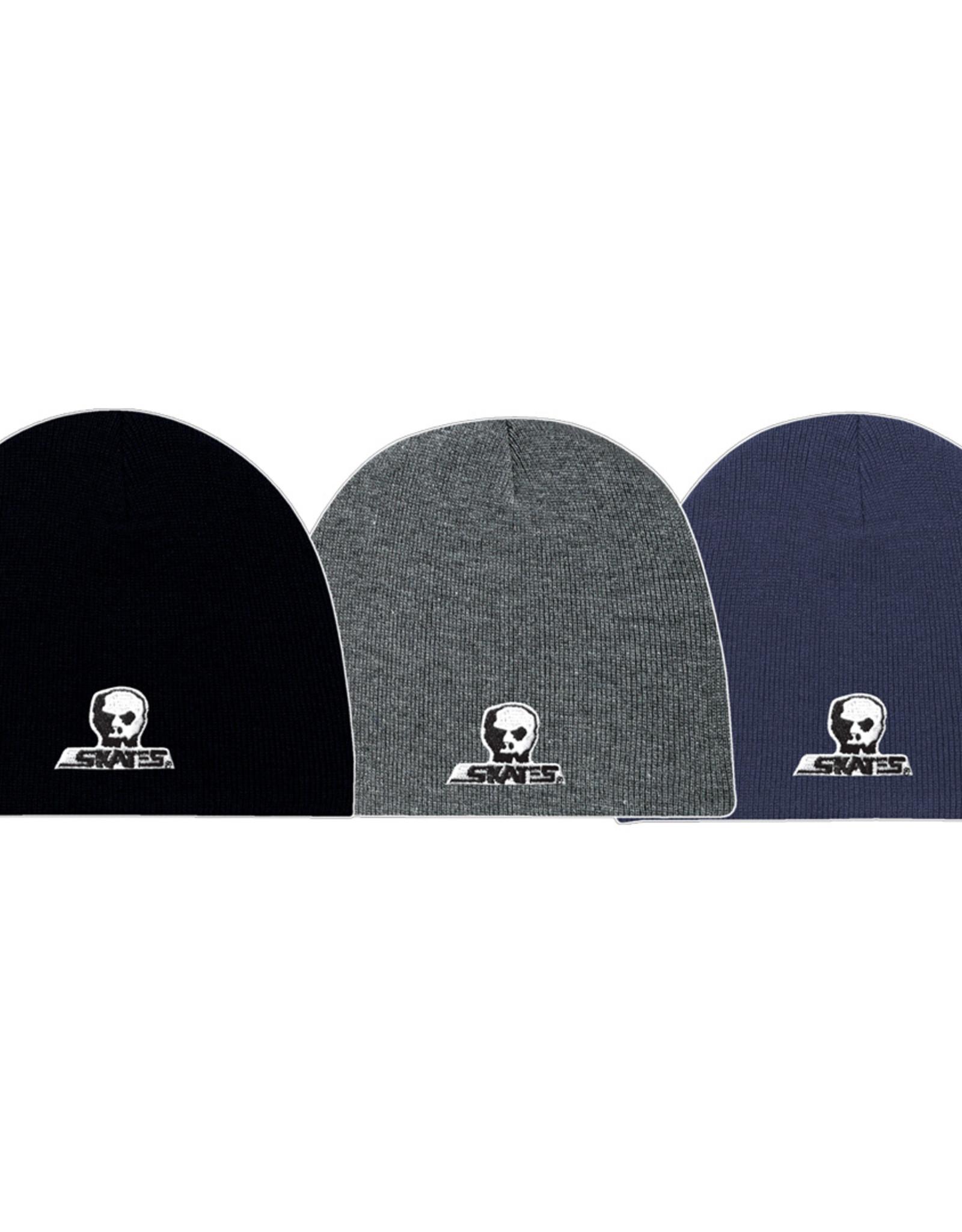 Skull Skates SKULL TOQUE SMALL LOGO NO CUFF NAVY