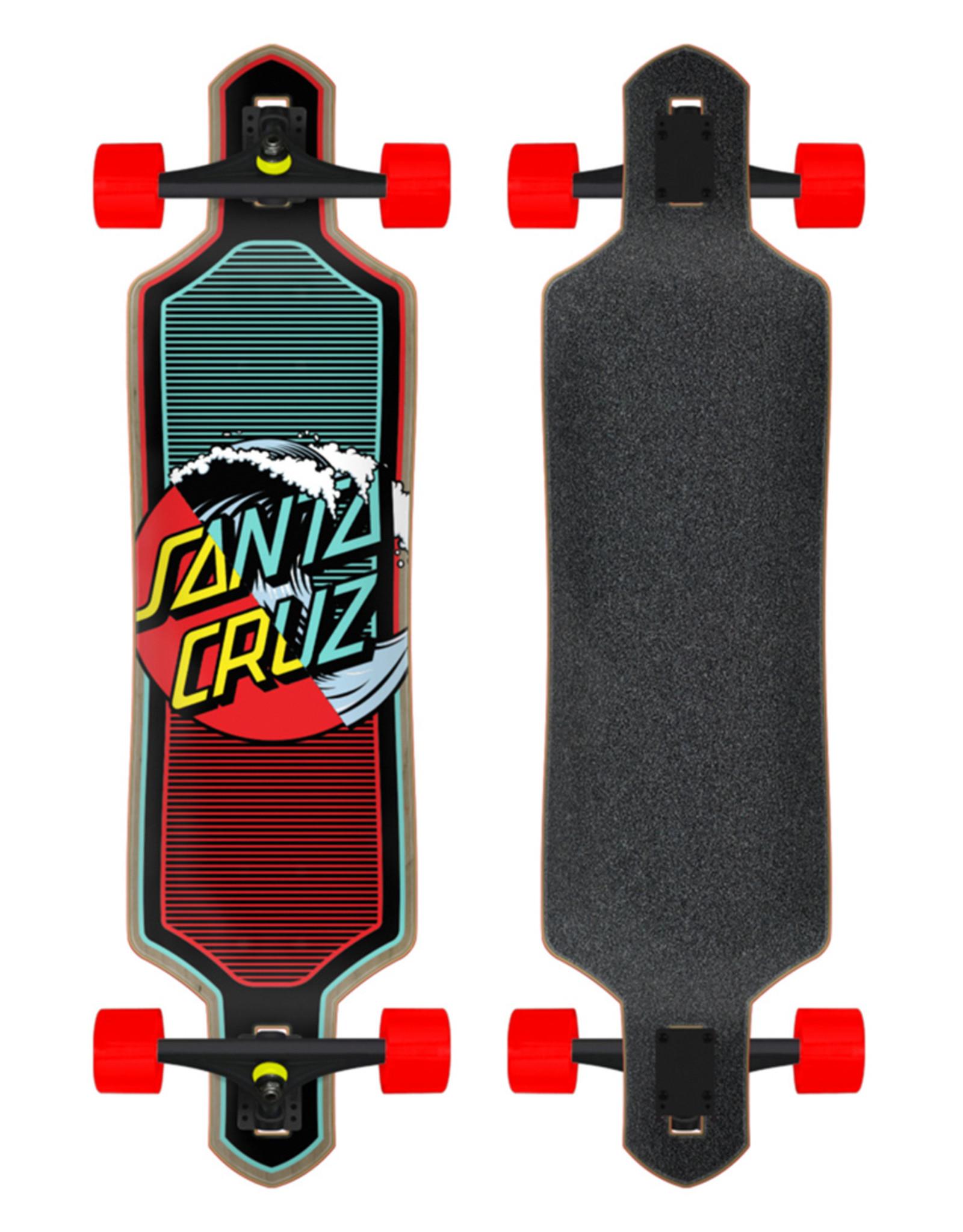 Santa Cruz CRUZ DROP THRU WAVE DOT SPLICE 9x36