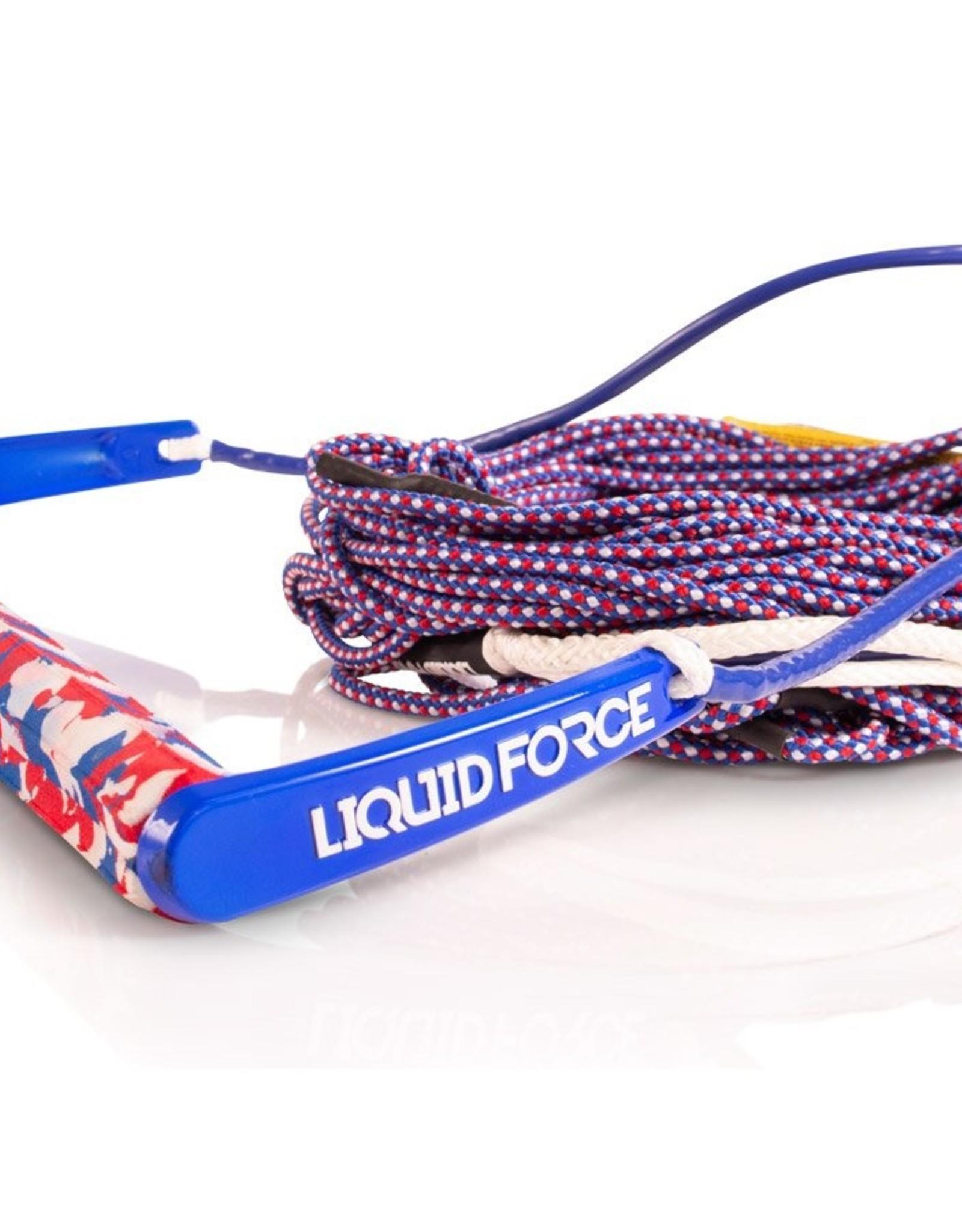 Liquid Force TEAM/ H-BRAID AMERICA 70'  ROPE COMBO