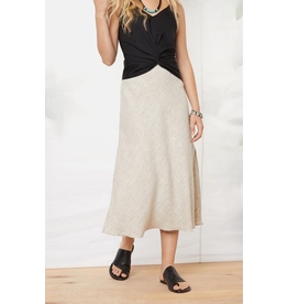 Fifteen Twenty Linen Bias Cut Skirt