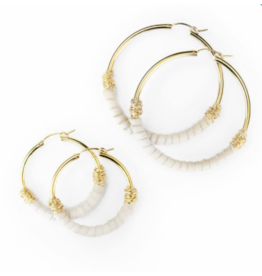 Bloom Jewelry Wrapped Large Hoops - various