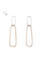 Colleen Mauer Interlocking Rectangle Earrings