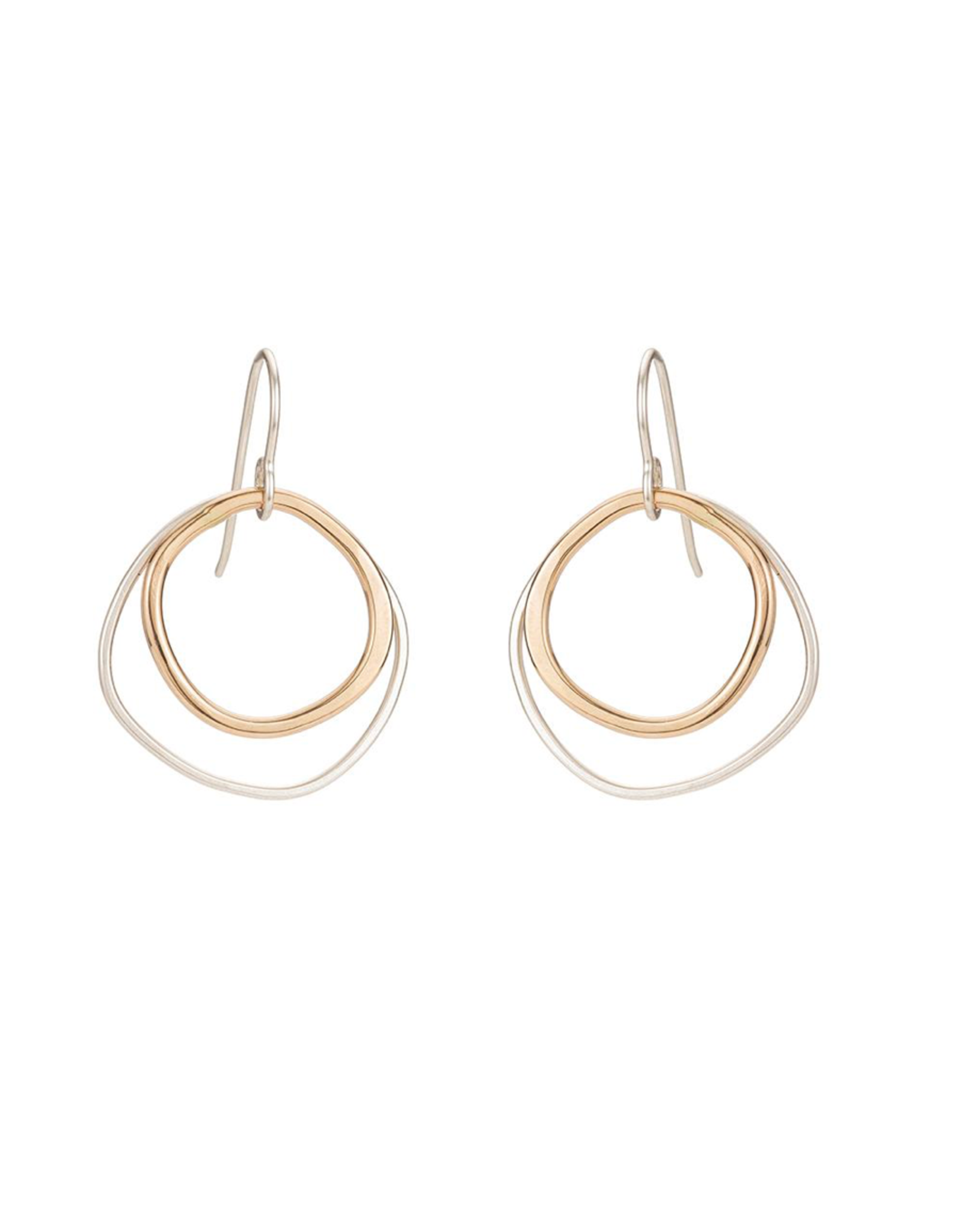 Colleen Mauer Double Rounded Square Earrings