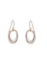 Colleen Mauer Mini Tri-toned Oblong Earrings